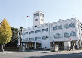 真岡市庁舎