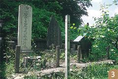 田崎草雲墓地