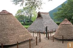 縄文時代の住居跡