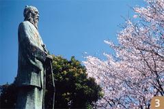 田中正造の銅像
